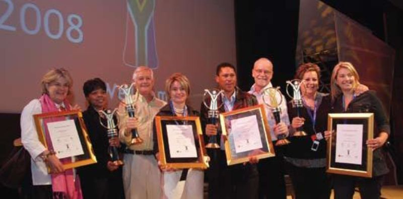 """60b8683ab Maropeng Visitor Centre took top honours in the 2008 """"Tourist Attraction""""  category of the South African Tourism Welcome Awards."""