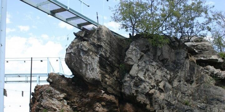 Skywalk At Sterkfontein