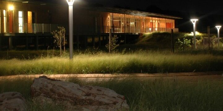Sterkfontein Caves New Visitor Centre Night Shot