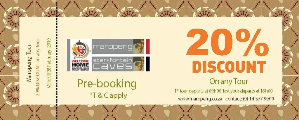 Maropeng Voucher