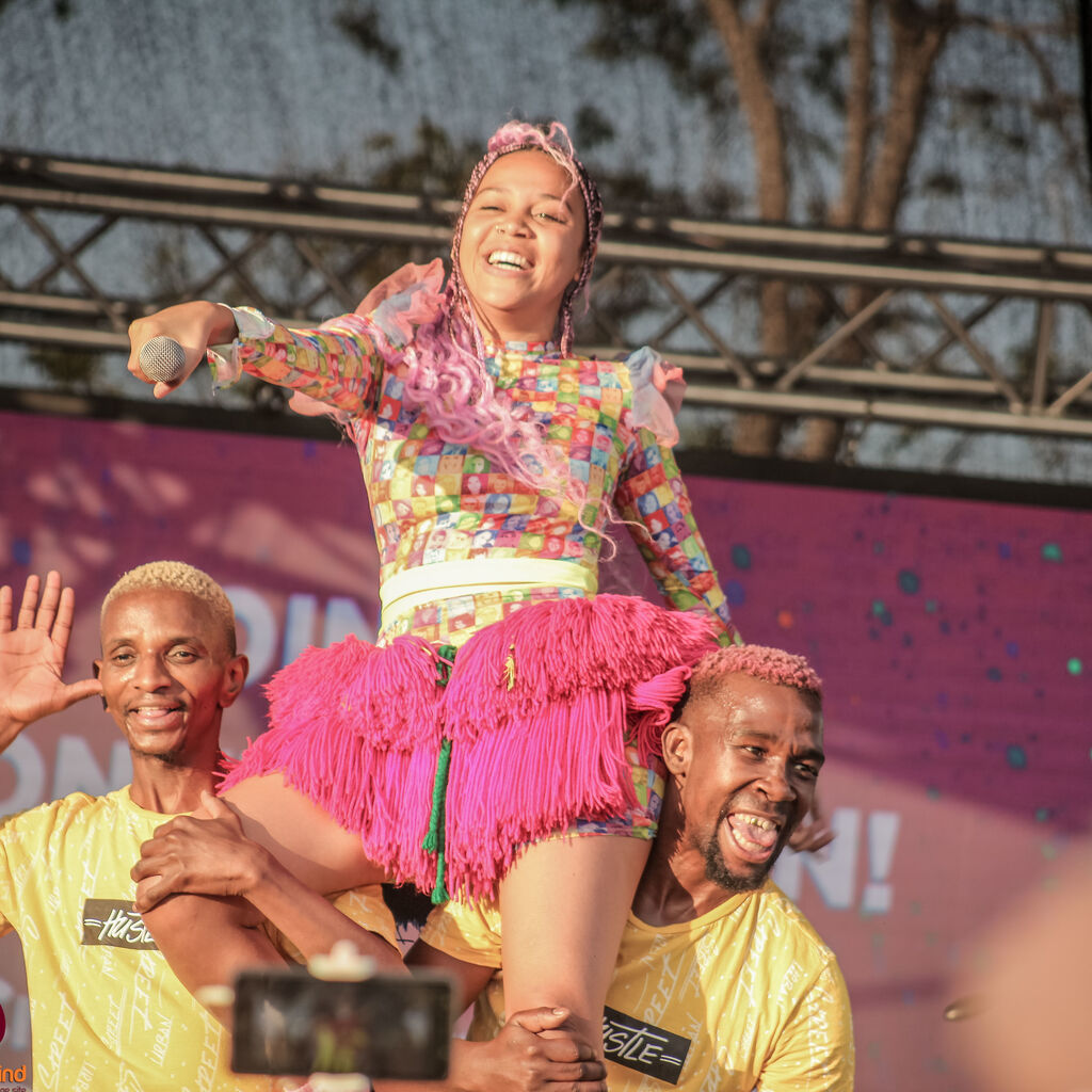 Sho Madjozi Cradle Colourfest