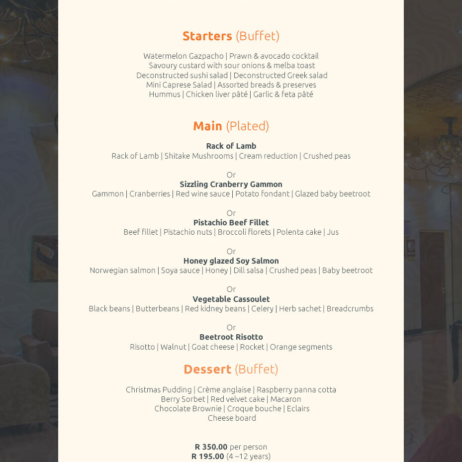 Maropeng Xmas Lunch Menu 2019 1 New 1