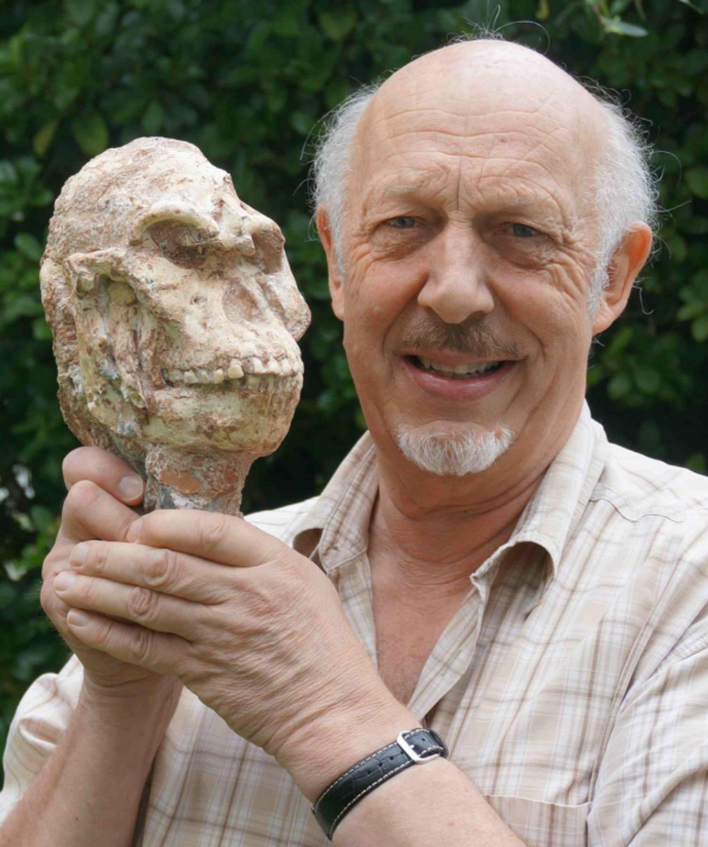 Prof Rj Clarke Wth Little Foot