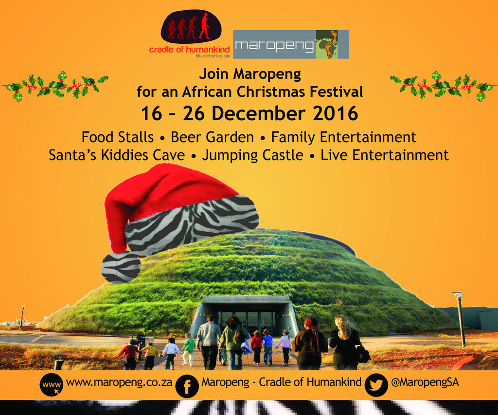 maropeng digitalbanner the african christmas - African Christmas